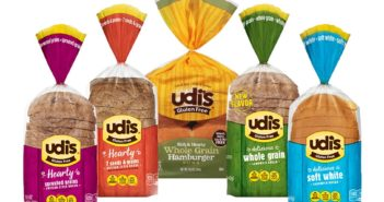 Udi's Gluten Free Bread - available in traditional loaves, ancient grains and buns. All dairy-free.