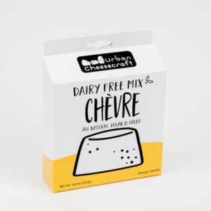 Urban Cheesecraft Dairy Free Mixes Reviews and Info. For making all types of vegan blocks, wheels, and sauces. Pictured: Chevre