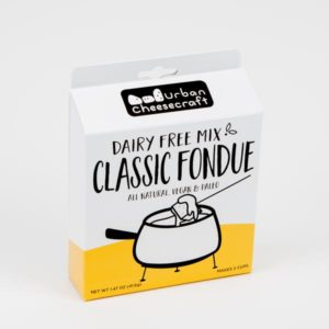 Urban Cheesecraft Dairy Free Mixes Reviews and Info. For making all types of vegan blocks, wheels, and sauces. Pictured: Classic Fondue