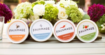 Fauxmage Cheese from Trees! A dairy-free and vegan artisan cheese spread in four flavorful varieties. Soy-free, paleo.