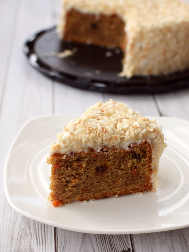 Flax4Life Cakes (Carrot pictured) - Gluten-Free & Dairy-Free!