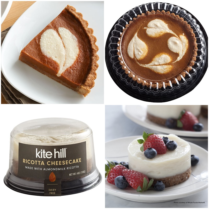 Kite Hill Cheesecake made with Dairy-Free Ricotta - yes, it's vegan / plant-based and soy-free, too!
