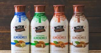 So Delicious Almond Milk Beverages and Blends - dairy-free, vegan & carrageenan-free! Walnut, Vanilla, Original & Unsweetened.