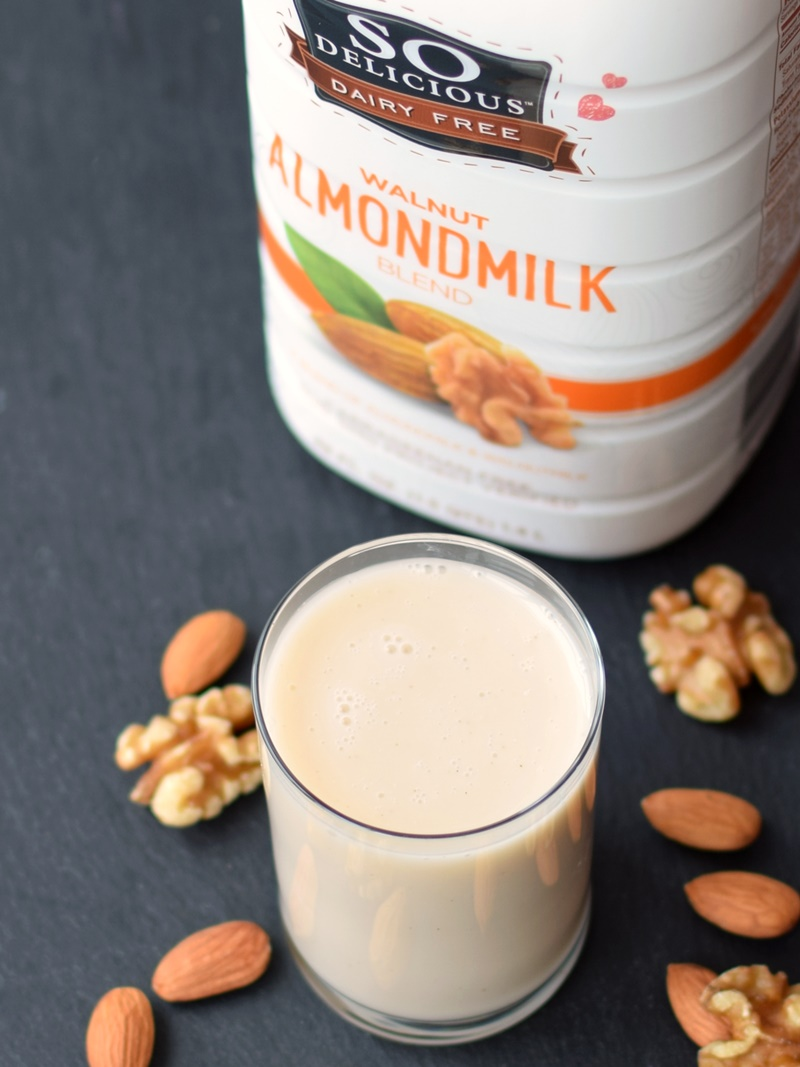 So Delicious Dairy Free Almondmilk Beverages and Blends - dairy-free, vegan and carrageenan-free! Walnut, Vanilla, Original and Unsweetened.