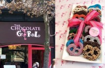 The Chocolate Girl in Los Angeles is a kosher parve facility, hand-making an array of dairy-free chocolates.