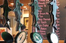 Dogfish Head Alehouse in Gaithersburg, MD and two Virginia locations (kindly cater to dairy-free & gluten-free diners)