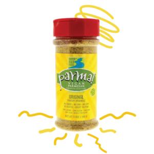 Parma! Vegan Parmesan Reviews and Info (Dairy-Free, Paleo, and Gluten-Free) - 4 varieties. Pictured: Original