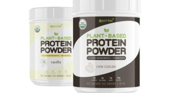 Pure Food Plant-Based Protein Powder Reviews and Info - Dairy-free, Clean Ingredients, Probiotics, and More.