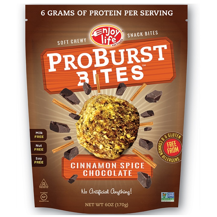 The Top New Dairy Free Products to Watch For: #2 - Enjoy Life ProBurst Bites (healthy, dreamy, allergy-friendly truffles!)