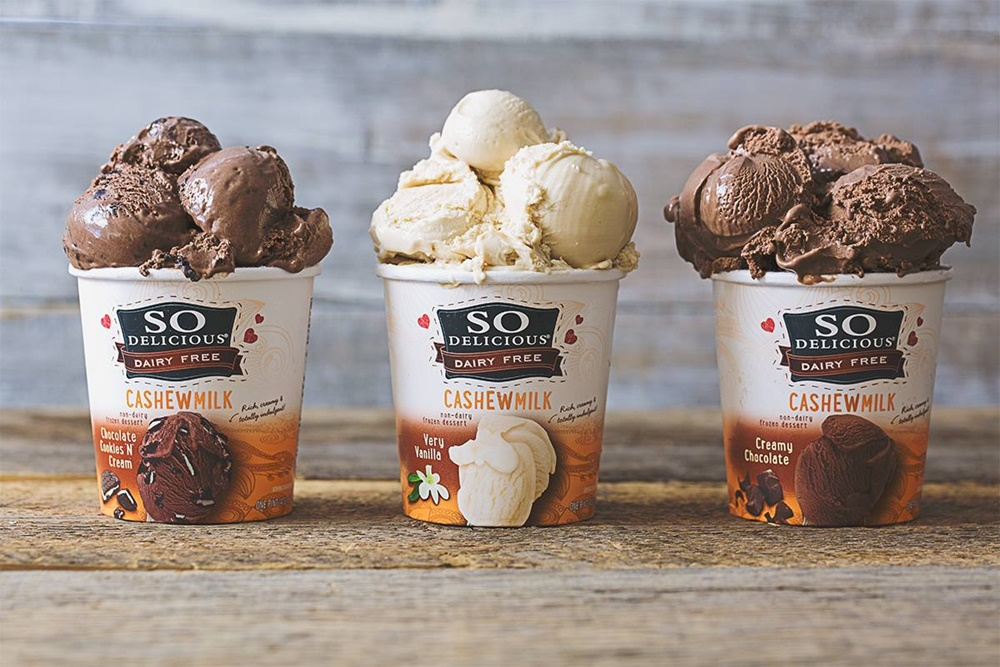 The Top New Dairy-Free Products to Watch For: #3 - New Flavors of So Delicious Cashewmilk Ice Cream (holy cookies!)