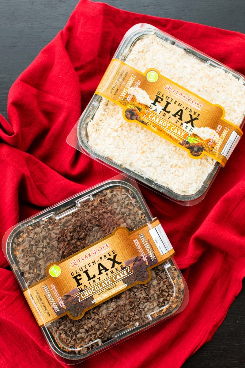 Flax4Life Cakes Review -frosted gluten-free, dairy-free, nut-free, ready-to-enjoy cakes sold nationwide
