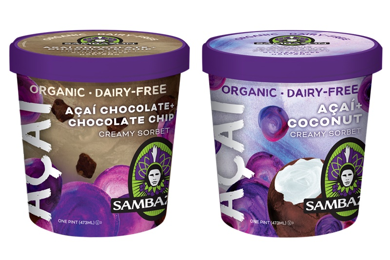 The Top New Dairy Free Products to Watch For: #9 - Sambazon Acai Sorbets in New Cool & Creamy Organic, Dairy-Free Flavors