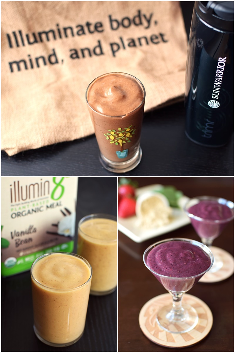 A New Dairy-Free Smoothie Recipe for Every Day of the Year (FREE!) + New Sunwarrior Illumin8 Plant-Based Organic Meal Replacement