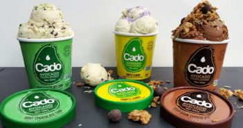 Cado Organic Avocado Ice Cream - dairy-free, vegan, allergy-friendly frozen dessert made with a base of avocados!