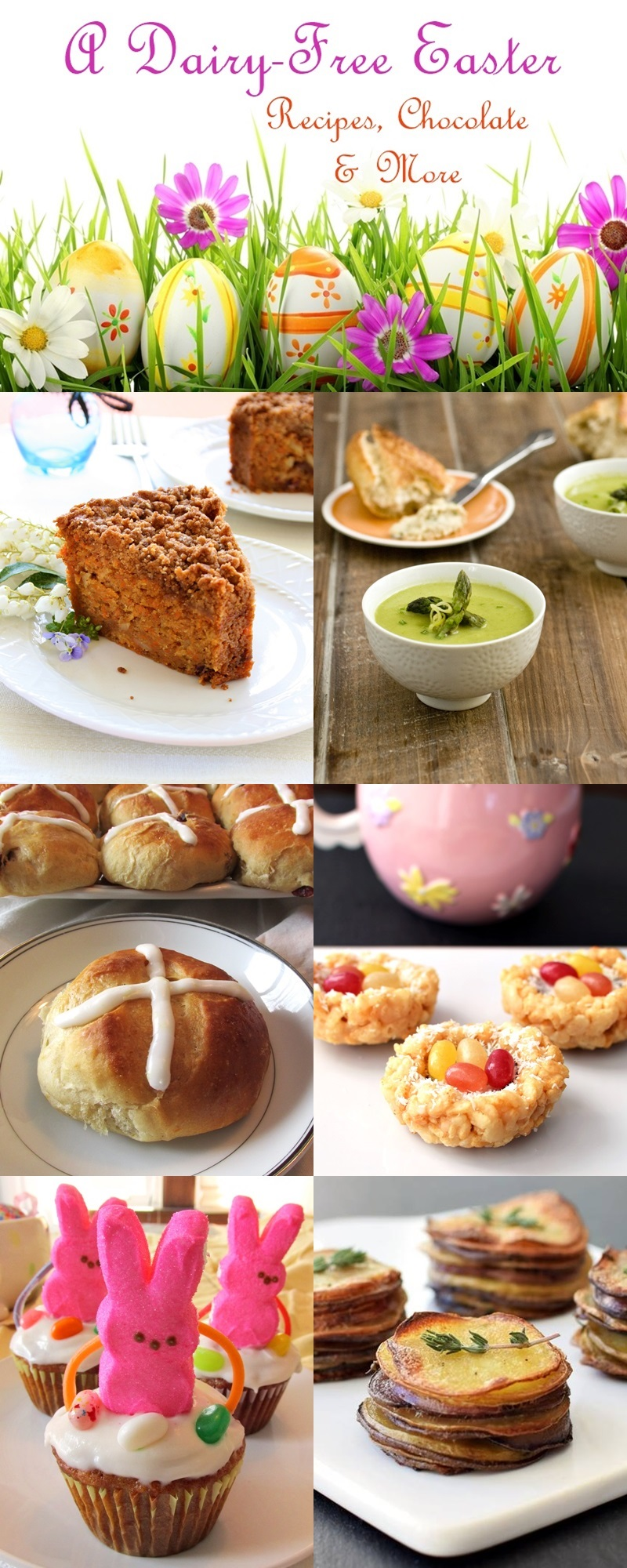 A Dairy-Free Easter: Recipes and More!