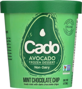 Cado Avocado Ice Cream - dairy-free, vegan, allergy-friendly frozen dessert made with a base of avocados! We have ingredients, reviews, and more info ...