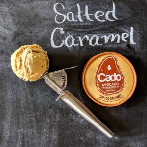 Cado Organic Avocado Ice Cream - dairy-free, vegan, allergy-friendly frozen dessert made with a base of avocados! We have ingredients, reviews, and more info ...