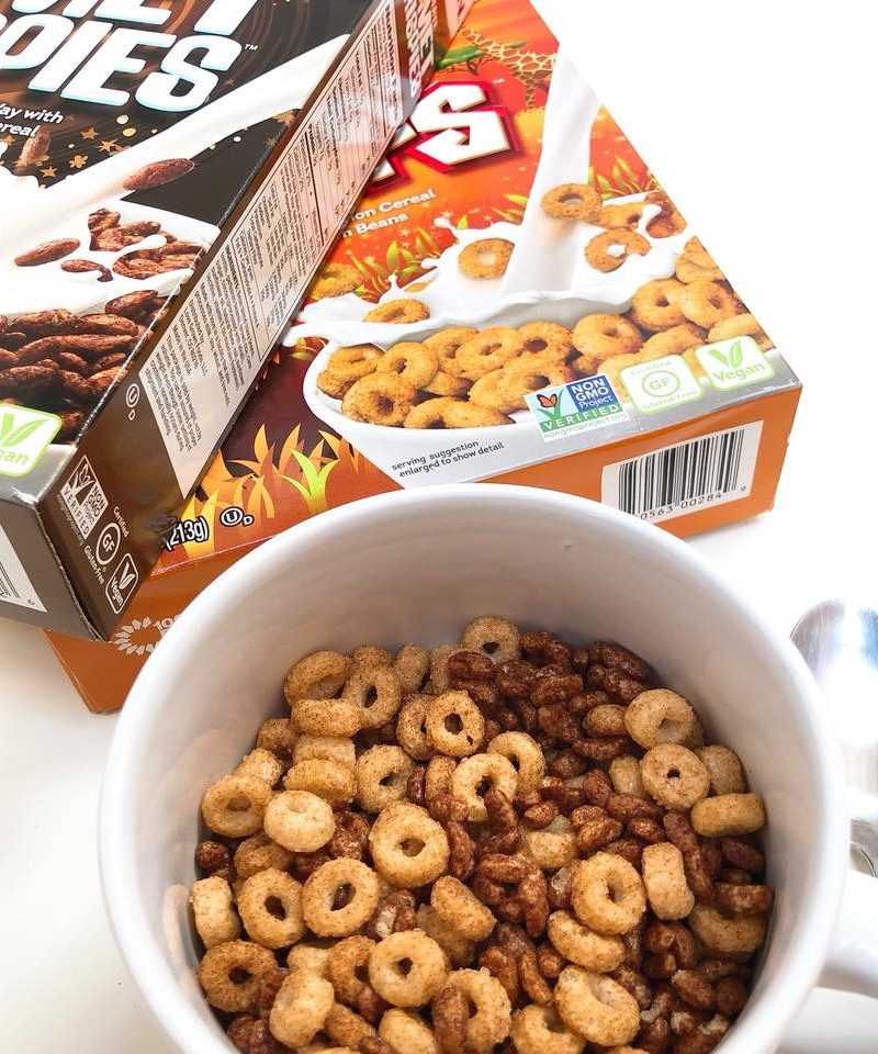 Love Grown Kids Cereals Reviews and Info - dairy-free, gluten-free, vegan, and made with beans and lentils!