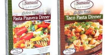 Namaste Pasta Dinners Reviews and Info - dairy-free, gluten-free, and top allergen-free convenience meals in a box