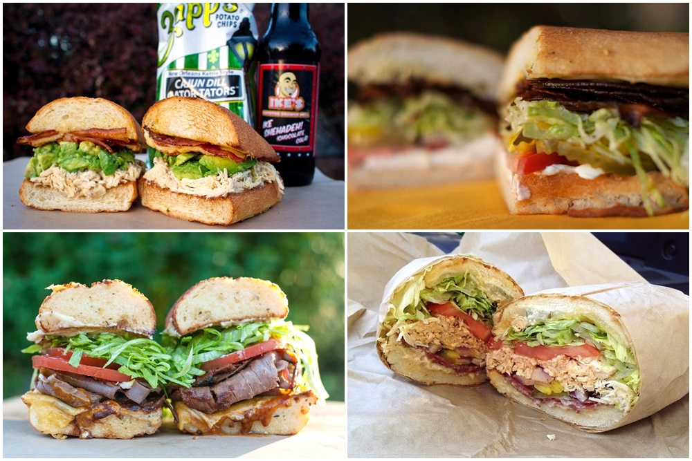 Ike's Place Sandwich Shops (locations throughout California) offer gluten-free, vegan and dairy-free options for practically everything on their massive menu!