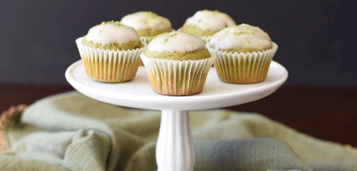 Matcha Latte Mini Muffins