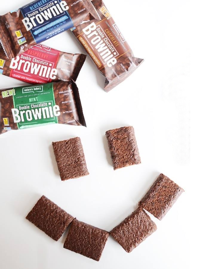 Nature's Bakery Double Chocolate Brownies - 4 Flavors, all dairy-free, kosher pareve, and vegan