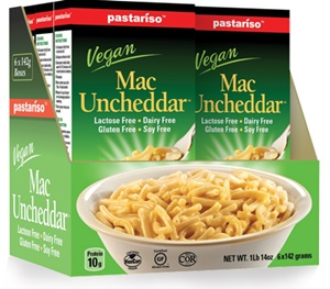 Pastariso Vegan Mac Uncheddar (Review) - Dairy-free, gluten-free and even made without top allergens. Good flavor, but ...