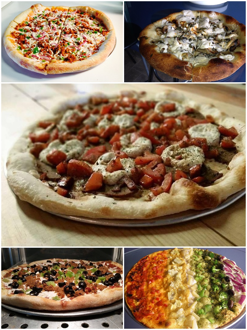 Pizza Pi Vegan Pizzeria in Seattle, WA - an all-vegan, dairy-free restaurant with many gluten-free options.