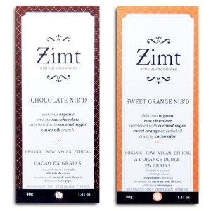 Zimt Chocolate Bars: Organic, Artisan, Vegan and Refined Sugar Free! The luxuriously smooth 70% cacao chocolate bars are dairy-free and sweetened with coconut sugar.