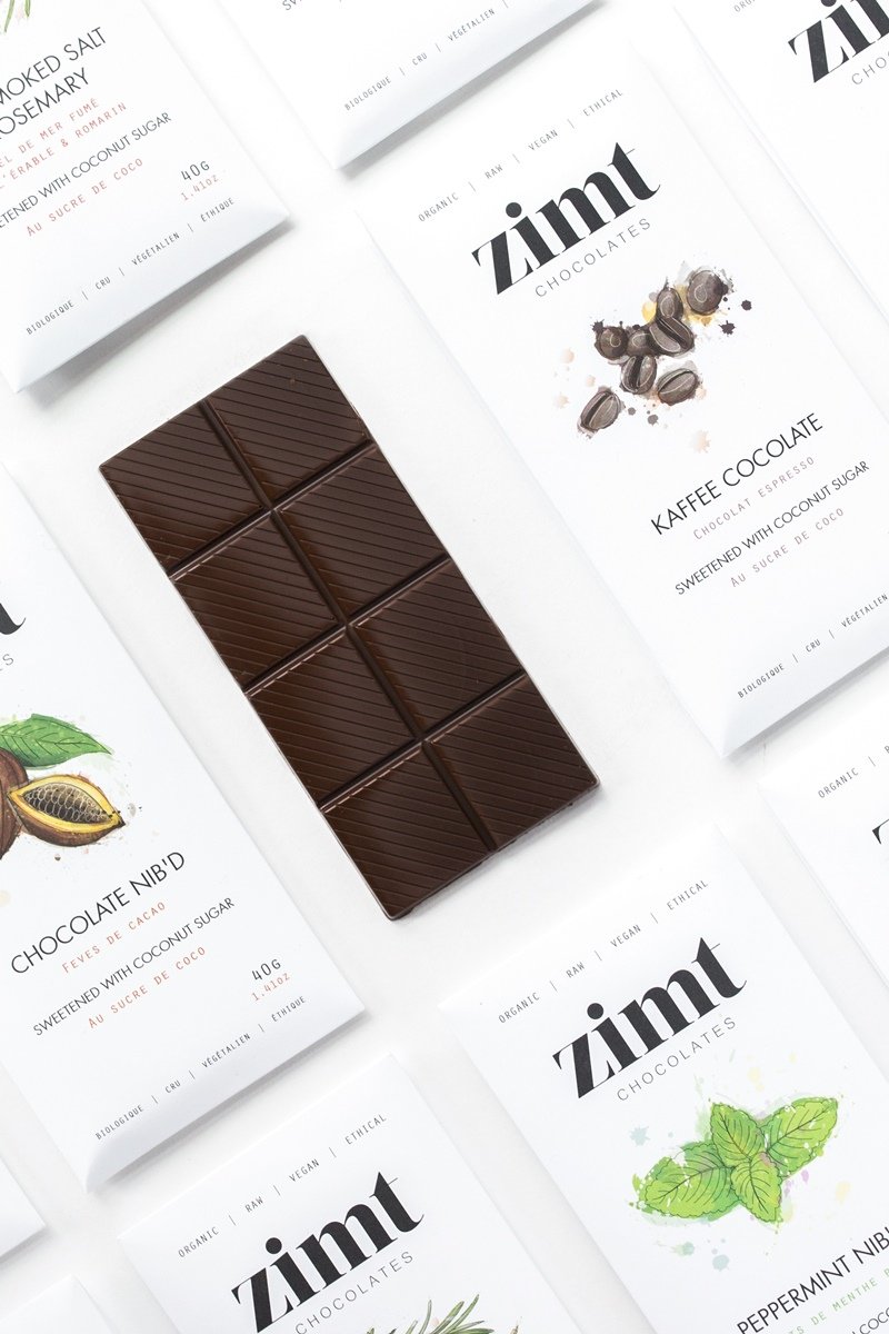 Zimt Chocolate Bars: Organic, Artisan, Vegan and Refined Sugar Free!
