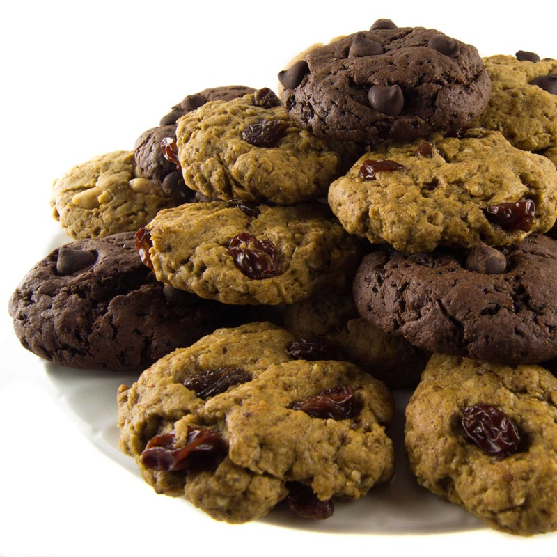 The Good Cookie Gluten-Free Cookies - vegan, low glycemic, functional energy treats