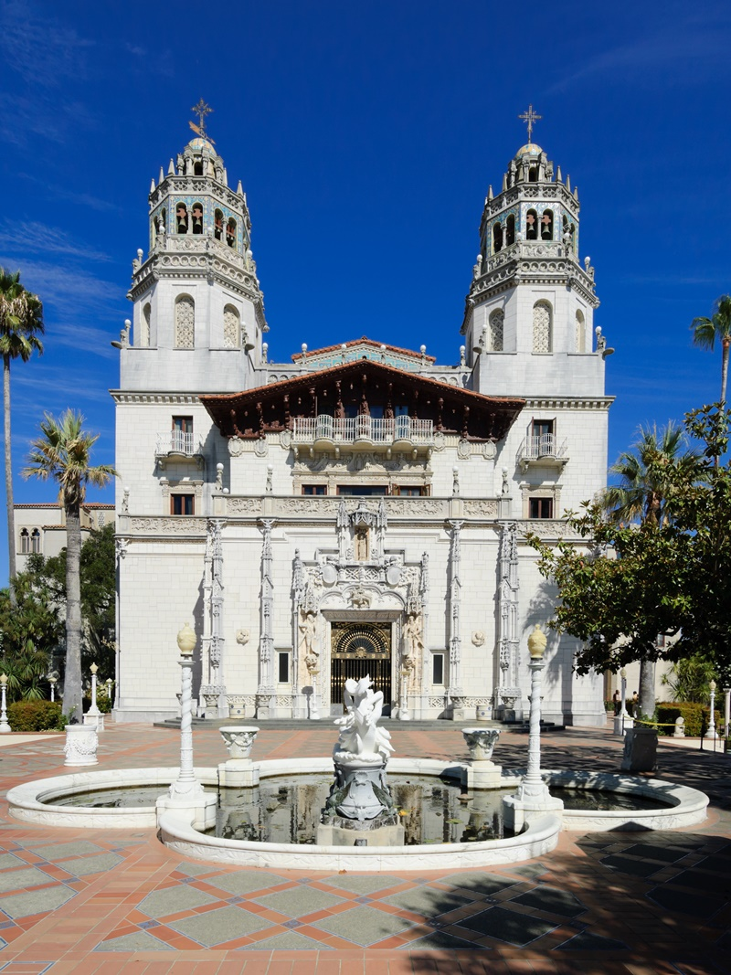 Travel: Recommended Lodging, Must See Sites and Restaurants for Dairy-Free, Gluten-Free & Vegan Patrons on the California Central Coast (pictured: Hearst Castle)