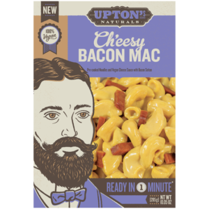 Upton's Naturals Ch'eesy Mac Reviews and Info - Vegan mac and cheese in original and bacon varieties.