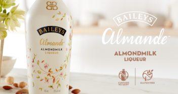 Baileys Almande Almondmilk Liqueur - the first dairy-free cream liqueur from Baileys is here!