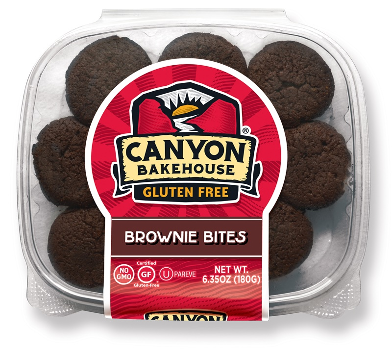 Canyon Bakehouse Brownie Bites - Gluten-Free, Dairy-Free, Nut-Free Two-Bite Treats (Review)