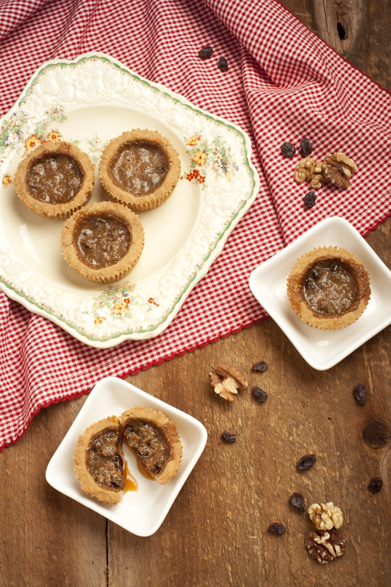 Vegan Butter Tarts Recipe - An upgrade on the classic Canadian dessert - dairy-free, egg-free, refined sugar-free and wholesome!