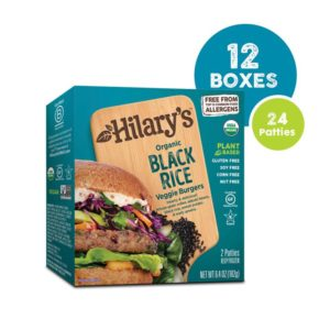 Hilary's Eat Well Veggie Burgers could be the World's Healthiest Patties. Vegan, gluten-free, nut-free, soy-free, 8 varieties.