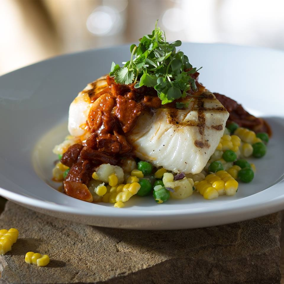Seasons 52 is a fine dining chain focused on fresh, seasonal cuisine with dairy-free, gluten-free, vegan, vegetarian, and sodium-friendly specific menus