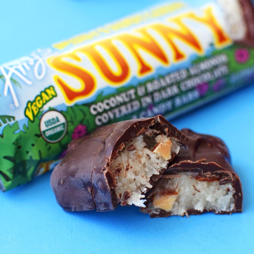 Amy's Organic Candy Bars - Vegan Versions (Dairy-Free, Gluten-Free Dreamy & Sunny)