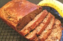 Pumpkin Banana Bread Recipe - a healthier dairy-free option!