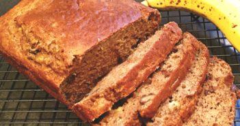 Pumpkin Banana Bread Recipe - a healthier dairy-free option!