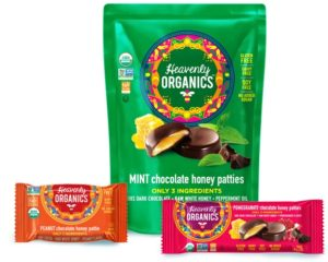 Heavenly Organics Chocolate Honey Patties (Review) - simple, addictive, dairy-free, gluten-free & paleo treats for purists