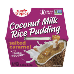 Sun Tropics Coconut Milk Rice Pudding Reviews and Info - dairy-free, gluten-free, vegan, and shelf stable!
