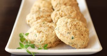 Easy Herb Drop Biscuits - a recipe with surprise everyday ingredients! (dairy-free, optionally vegan recipe)