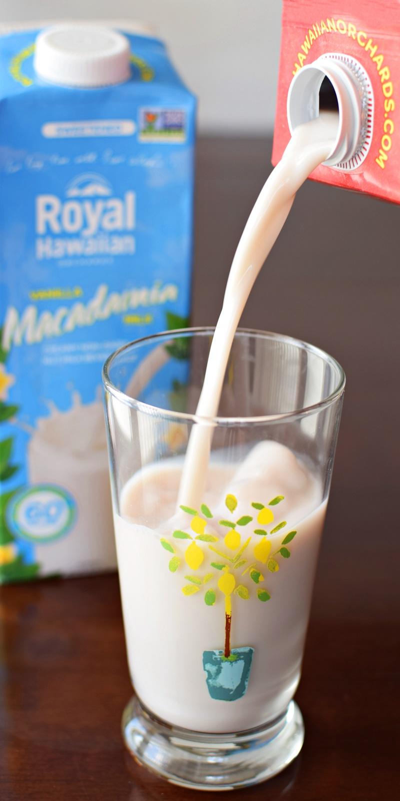 Royal Hawaiian Orchards Macadamia Milk - Creamy non-dairy nut milk beverages (dairy-free, soy-free & vegan)