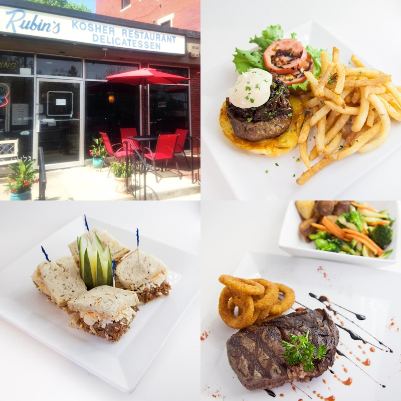 Rubin's Kosher Restaurant Delicatessen in Brookline, MA is a dairy-free haven