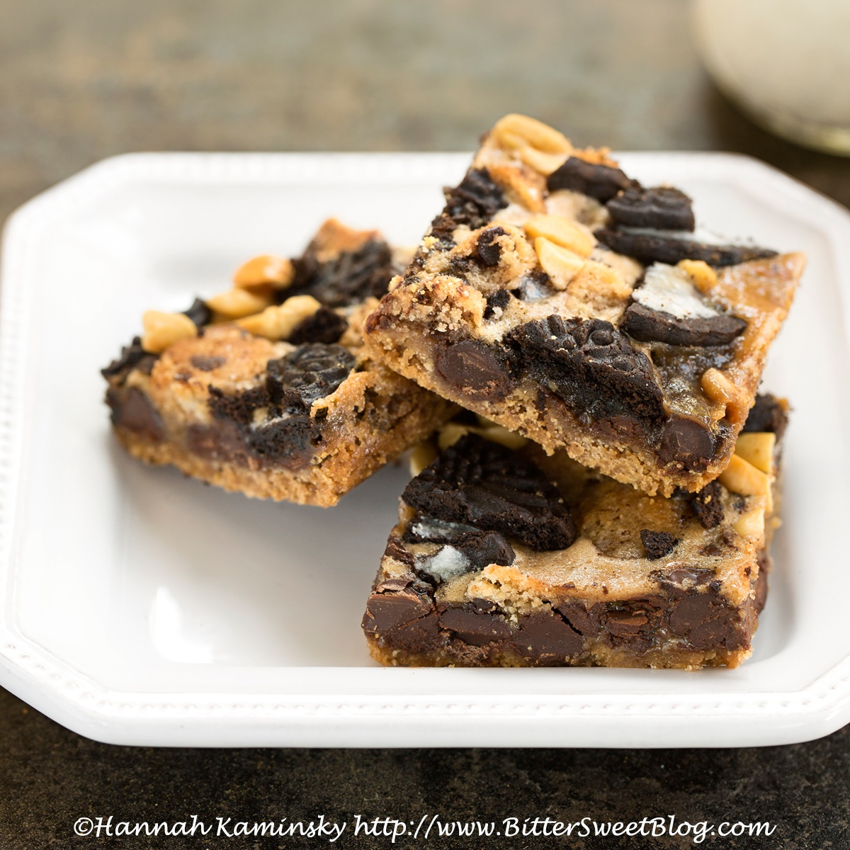 Cashew Milk Dairy Free Frozen Dessert Recipes - Vegan Cookie Monster Magic Bars (pictured)