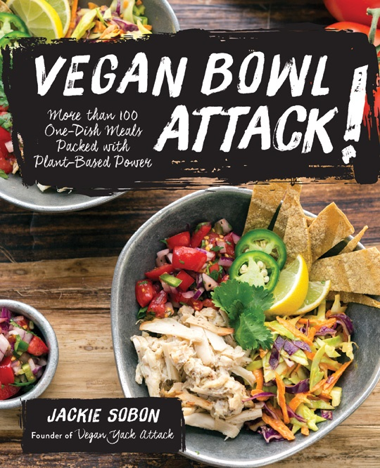 Vegan Bowl Attack! by Jackie Sobon. Post includes a sample recipe for dairy free Amaretto Cherry Ice Cream