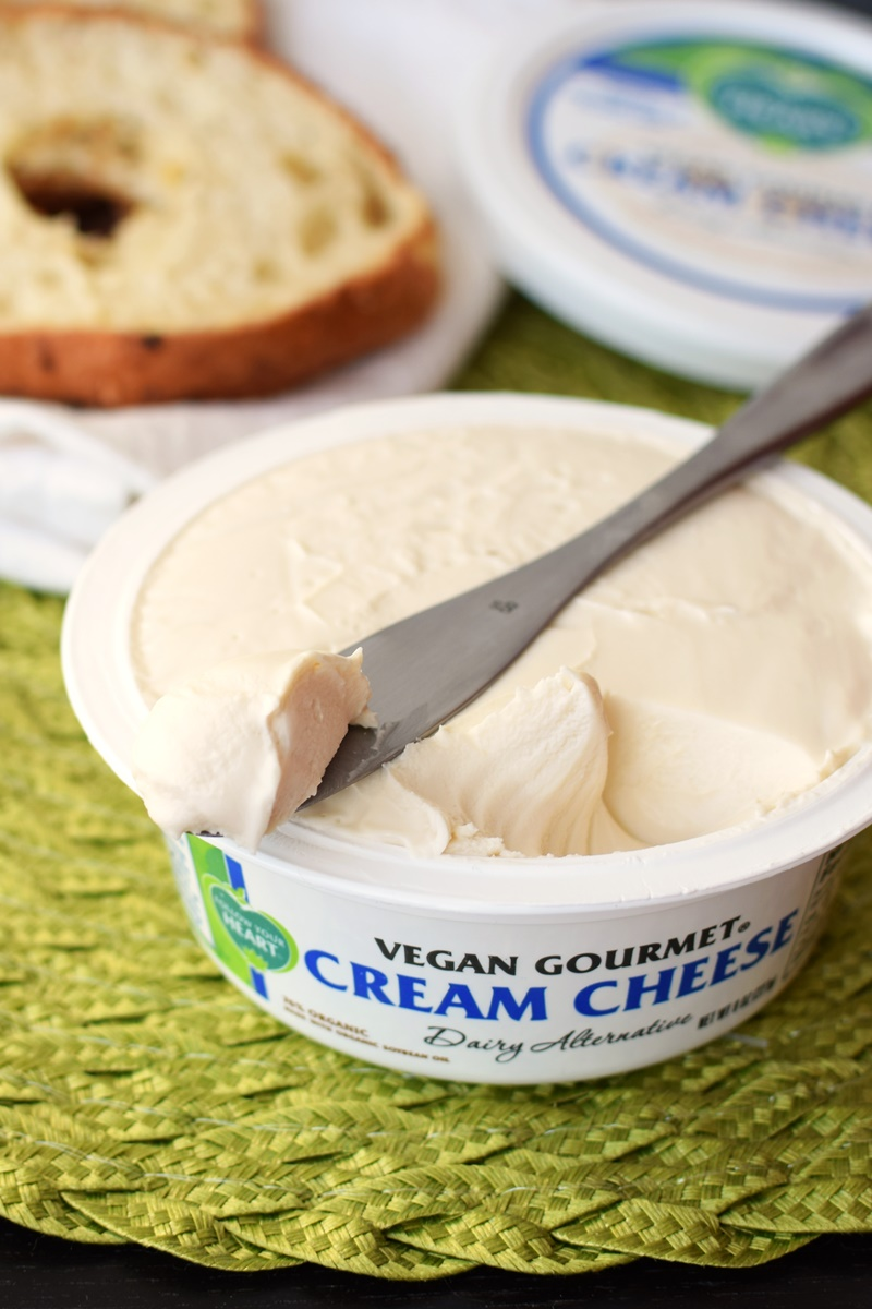 Vegan Gourmet Cream Cheese Dairy Alternative by Follow Your Heart (Review) - dairy-free, gluten-free, made with organic ingredients and non-GMO