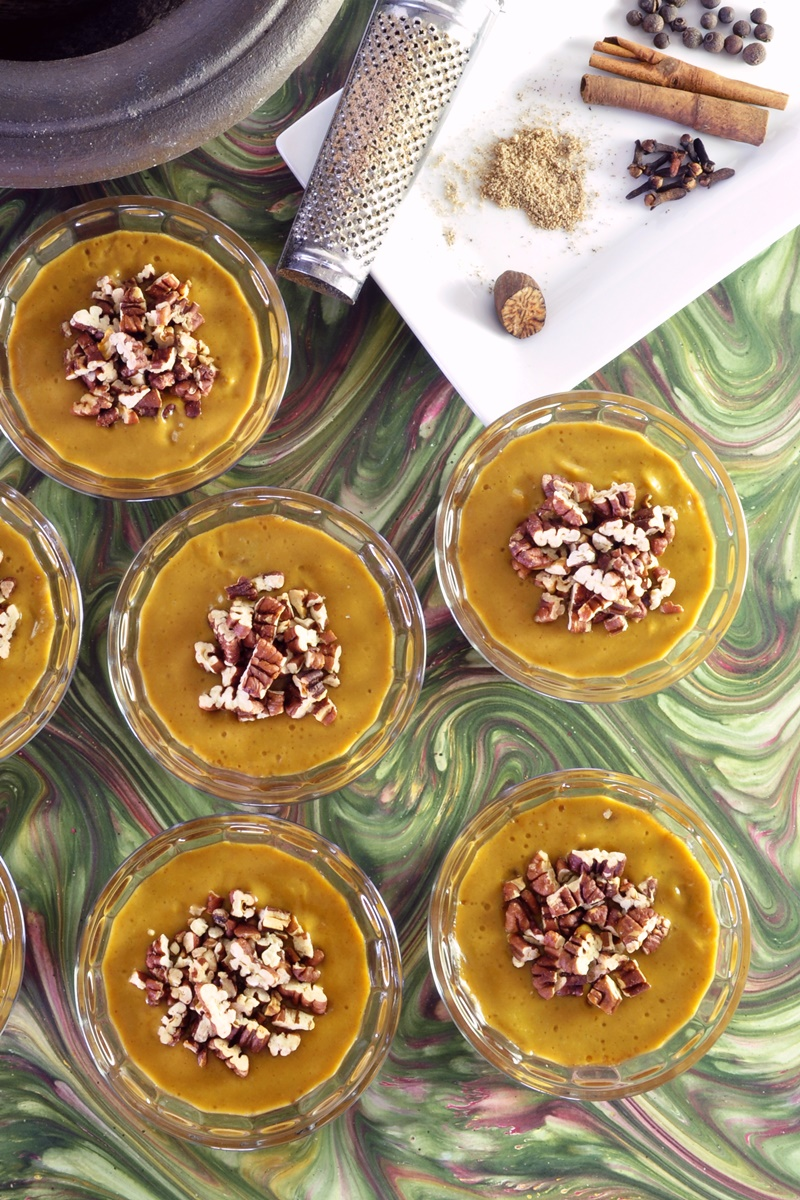 Healthy Vegan Pumpkin Pie Mousse Recipe - 5 Minutes, Dairy-Free, Egg-Free, Soy-Free